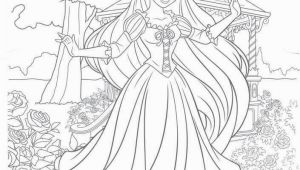 Coloring Pages Disney Princess Rapunzel Disney Tangled Coloring Web Page with Images