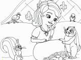 Coloring Pages Disney Princess sofia sofia the First Coloring Page with Robin Mia Clover and