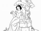 Coloring Pages Disney Snow White Snow White