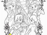 Coloring Pages Disney Tinkerbell and Friends 101 Best Tinkerbell Coloring Pages Images