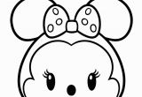 Coloring Pages Disney Tsum Tsum Minnie Mouse From Mickey Mouse Tsum Tsum Coloring Pages for