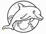 Coloring Pages Dolphins Printable Dolphin