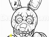 Coloring Pages Five Nights at Freddy S 3 How to Draw Freddy Fazbear Easy Step 7 Crafts Pinterest