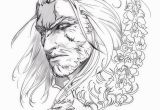 "Coloring Pages for A Question Mark Kiguri ""i Drew Geralt thought I D Draw Him before I Finish"