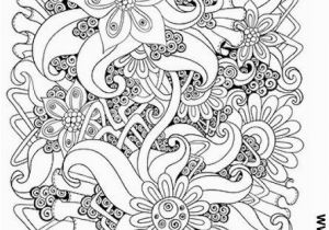 Coloring Pages for Adults Difficult Flower Flower Abstract Doodle Zentangle Zendoodle Paisley Coloring Pages