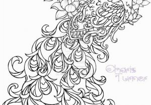 Coloring Pages for Adults Difficult Flower Realistic Peacock Coloring Pages Free Coloring Page Printable