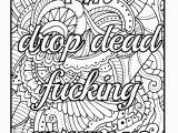 Coloring Pages for Adults Easy Amazon Be F Cking Awesome and Color An Adult Coloring