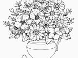 Coloring Pages for Adults Flowers Rosh Hashana Ecard Awesome Cool Vases Flower Vase Coloring