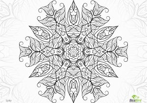Coloring Pages for Adults Free Coloring Page Jangle Charm Spiky Jungle Flower Hard Coloring Pages for Adults