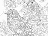 Coloring Pages for Adults Printable Pdf Coloring Pages for Adults Lovely Birds Couple Spring