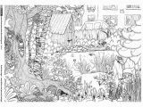 Coloring Pages for Adults with Hidden Objects Garten Tiere Wimmelbild … Malen