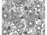 Coloring Pages for Adults Zentangle Flower Abstract Doodle Zentangle Coloring Pages Colouring