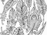 Coloring Pages for Adults Zentangle Herbstmandala Schön Feathers Printable Adult Coloring Page