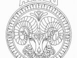 Coloring Pages for Adults Zodiac Pin On Pagan Coloring Pages