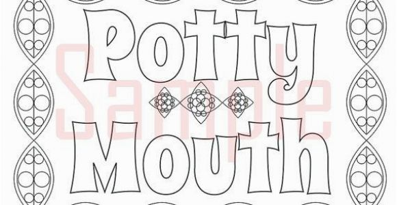 Coloring Pages for Boyfriend Sweary Coloring Page Potty Mouth 1 Swearing Coloring