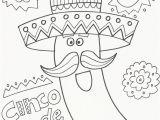 Coloring Pages for Cinco De Mayo Cinco De Mayo Coloring Pages Doodle Art Alley