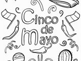 Coloring Pages for Cinco De Mayo Printable Cinco De Mayo Coloring Page Free Pdf at
