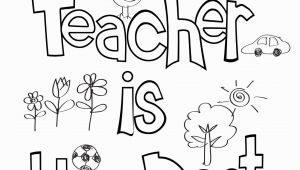 Coloring Pages for College Students Teacher Appreciation Coloring Sheet with Images