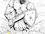 Coloring Pages for David and Goliath Die 100 Besten Bilder Zu David