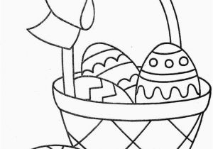 Coloring Pages for Easter Bunny 28 Easter Basket Coloring Page with Images