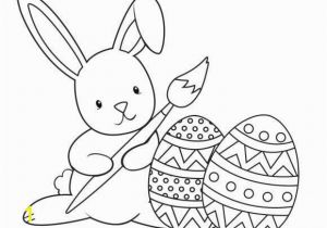 Coloring Pages for Easter Bunny Easter Bunny Coloring Page