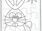 Coloring Pages for Easter Bunny Easter Bunny Puzzle 1 In 2020 with Images