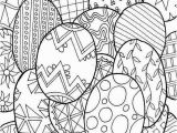 Coloring Pages for Easter Eggs Lovely Coloring Pages Easter Egg Pdf Picolour