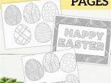 Coloring Pages for Easter Printable Free Printable Easter Coloring Sheets Med Bilder