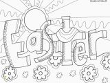 Coloring Pages for Easter Sunday Elegant Preschool Easter Bible Coloring Pages Boh Coloring
