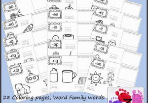 Coloring Pages for Elementary Students New Cvc Word Family Coloring Pages Short A Vowel with