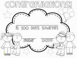Coloring Pages for End Of School Year ▷ 100th Day Of School Coloring Pages & Books Free