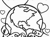 Coloring Pages for End Of School Year God so Loved the World Coloring Page
