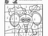 Coloring Pages for Fifth Graders Color by Fractions Elephant From Kaylee S Education