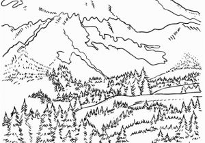 Coloring Pages for Fifth Graders Coloring Pages Mountians