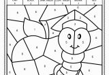 Coloring Pages for First Grade 6 Math Coloring Worksheets 1st Grade Back to School Color by