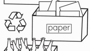 Coloring Pages for First Grade Color the Recycling with Images