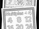 Coloring Pages for First Grade Multiples Coloring Pages Distance Learning