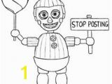 Coloring Pages for Five Nights at Freddy S 30 Best Fnaf Coloring Pages Images