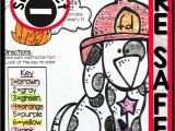 Coloring Pages for Fourth Graders Fire Safety Coloring Page