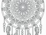 Coloring Pages for Fun Printable Native American Dream Catcher Coloring Pages