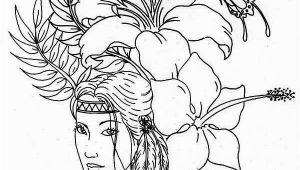 Coloring Pages for Fun Printable Native American Native American Difficult Coloring Pages