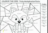 Coloring Pages for Grade 3 Printable Math Addition Worksheets Color by Addition
