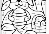 Coloring Pages for Grade 4 Easter Color by Numbers Subtraction for K Google Search