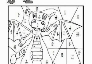 Coloring Pages for Grade 4 Equivalent Fractions Worksheets Ese Coloring Sheets Make