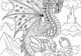Coloring Pages for Grown Ups Dragons Printable Adult Coloring Page From Favoreads