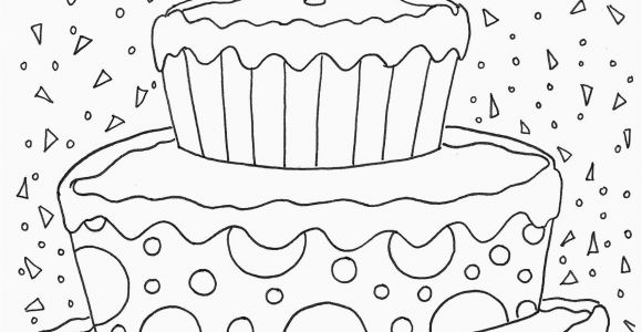 Coloring Pages for Happy Birthday 28 Happy Birthday Coloring Page In 2020 with Images