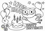 Coloring Pages for Happy Birthday Elegant Happy Birthday Balloons Coloring Pages Nicoloring