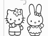Coloring Pages for Hello Kitty and Her Friends 315 Kostenlos Hello Kitty Ausmalbilder Awesome Niedlich