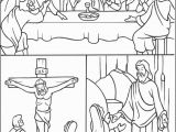 Coloring Pages for Holy Week Easter Triduum Coloring Page