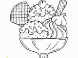 Coloring Pages for Ice Cream Printable Ice Cream Coloring Pages Di 2020